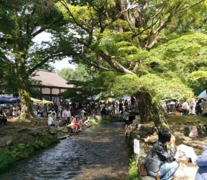 京都のてづくり市視察とたわしへの熱い想い
