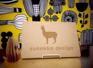 今年もsunokko designを宜しくお願いいたします