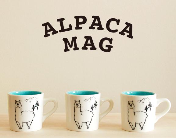 アルパカマグカップ